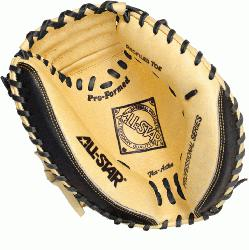 ar CM3100SBT Catchers Mitt BlackTan 33.5 inch (Right Handed Throw) : Premi