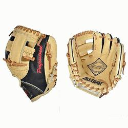 Pick 9.5 inch fielding training mitt is modeled after the CM100TM. The FG