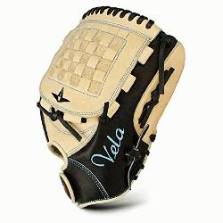 Vela 3 Finger FGSBV-12 Fastpitch Softball Glove 12 inch (Right Handed Throw) :