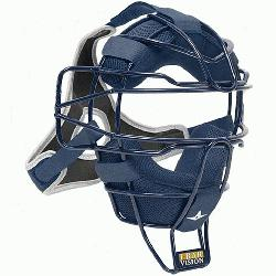 htweight Ultra Cool Tradional Mask Delta Flex Harness Black (Navy) : All Star Catchers Mask..