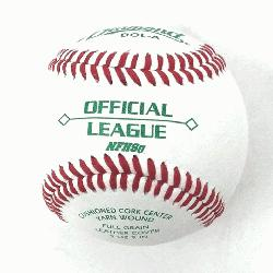 with 30 DOL-A Offical League Baseballs Shipped. Leather cover. Cushioned cork center. Yarn wound.