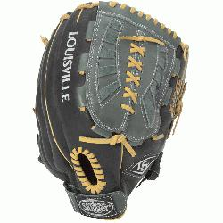 feel and an easier break-in period, the 125 Series Slowpitch Gloves are constructed wit