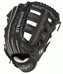 sville Slugger Pro Flare Black 12.75 in Baseball Glove (Right Handed Throw) : Louisv