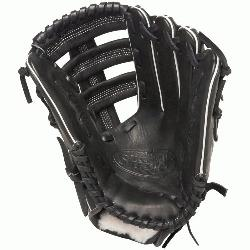 ouisville Slugger Pro Flare Black 12.75 in Baseball Glove (Right Handed Throw) :