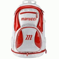 m Back Pack (WhiteRed) : About Marucci Sports: Based in Baton Rouge, Louisiana, Ma