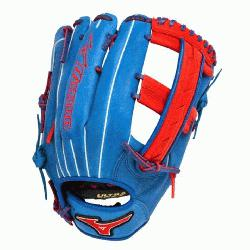 h GMVP1250PSES3 Softball Glove 12.5 inch (Royal-Red, Right Hand Throw) : Patent pending Heel
