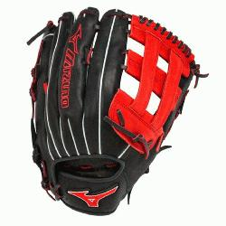 Slowpitch GMVP1300PSES3 Softball Glove 13 inch (Navy-Red, Right Ha