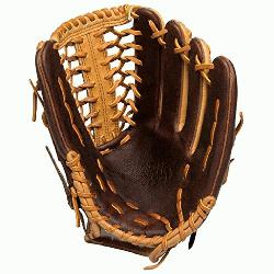 s 12.75 inch Outfield Baseball Glove with Trap Web. 12.75 inch outfield pattern. Modified T