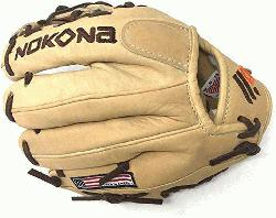 roducing Nokonas Alpha Select youth baseball gloves! Constructed from top-of-the-line lea