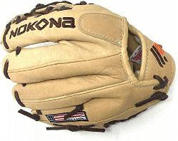 Nokonas Alpha Select youth baseball gloves! Constructed from top-