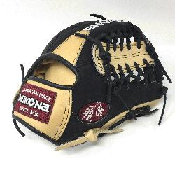 g Adult Glove made of American Bison and Supersoft Steerhide leather combined in b