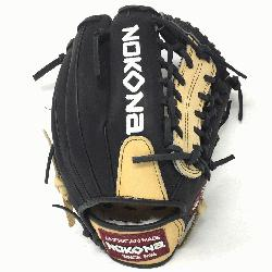 Glove made of American Bison and Supersoft Steerhide leather combine