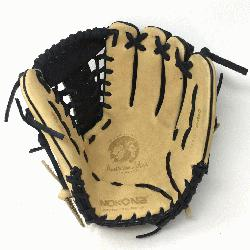 made of American Bison and Supersoft Steerhide leather combined in black and