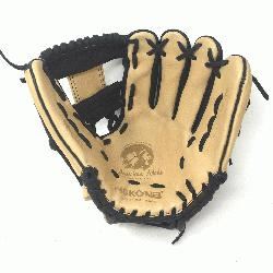 n>Young Adult Glove made of American Bison and Supersoft Steerhide leather combined