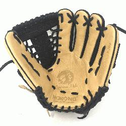 oung Adult Glove made of American Bison and Supersoft Steerhide leather