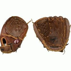 tball glove for female fastpitch softball players. Buckaroo leather for game ready