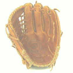 on 11.5 inch baseball glove with modified trap web. Inspired by Nokona