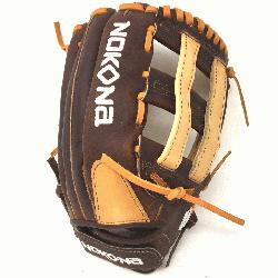 remium Buffalo and Steerhide Leather Nokona s Alpha Series Lightweight and Durable Near game-