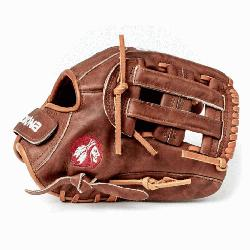 onas history of handcrafting ball gloves in America for over 80 years, the proprietary Wal