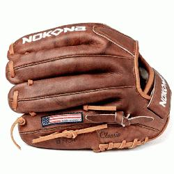 nspired by Nokonas history of handcrafting ball gloves in Americ