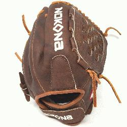 red by Nokona's history of handcrafting ball gloves