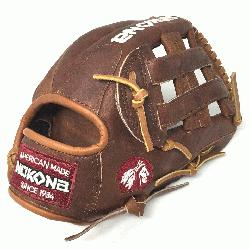 Inspired by Nokona's history of handcrafting ball gloves in America for over 80 years, t