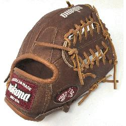 WB-1150M Baseball Glove 11.5 Modified Trap Right Handed Throw Walnut HHH Leather whi