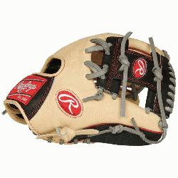 ed from Rawlings' world-renowned Heart of the Hide® steer hide leather, Heart of t