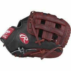 is Limited Edition Color Sync Heart of the Hide baseball glove features a PRO H We