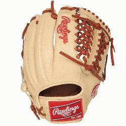 Rawlings 11.75-inch modified trapeze Heart of the Hide glove is perfect for infielders,