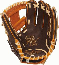 Rawlings' world-renowned Heart of the Hide steer hide leather, Hear