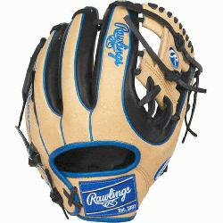 rade; web is typically used in middle infielder gloves Infield glove 60% pla