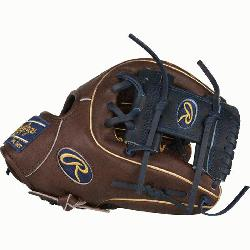 Heart of the Hide baseball glove features a 31 pattern which means the hand open
