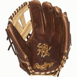 is Heart of the Hide baseball glove features a 31 pattern which means the han