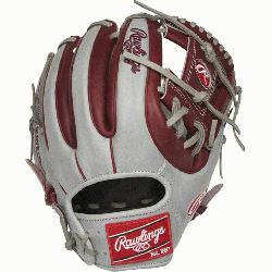 Rawlings world-renowned Heart of the Hide® steer hide leather, Heart of the