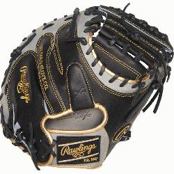 from Rawlings' world-renowned Heart of the Hide® steer hide leather, Heart o