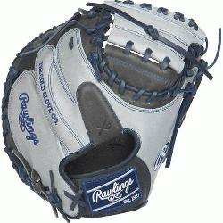 ition Color Sync Heart of the Hide Catchers Mitt from Rawlings features the One Piece Closed