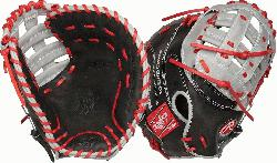 nstructed from Rawlings world-renowned Heart of the Hide steer leather, Heart of the Hide gloves