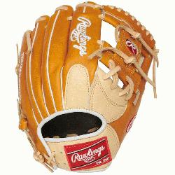 Rawlings' world-renowned Heart of the Hide steer hide leather,