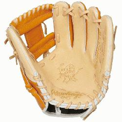 onstructed from Rawlings' world-renowned Heart of the Hide steer hide leather, Heart of the