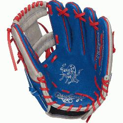 from Rawlings' world-renowned Heart of the Hide® steer hide leather, Heart of t
