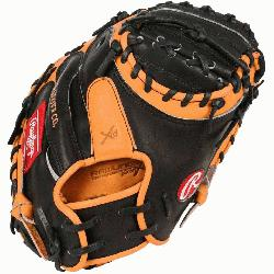 Heart of the Hide players series Catcher Mitt from Rawlings features the One Piece Closed Web wh