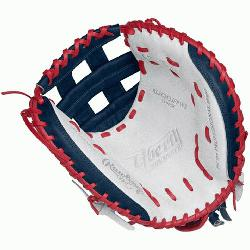 <p>33 Inch Womens Catchers Model Custom Fit, Adjustable, Non-Slip Pull S