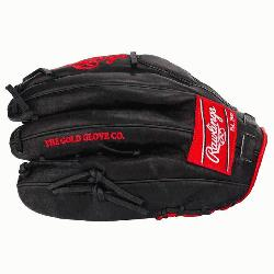 Preferred Gameday Pattern. 12.75 inch outfield glove. Trap-eze web and convent