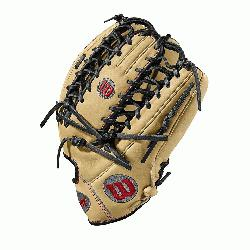 he A2000 OT6 from Wilson features a one-piece, six finger palmweb. Its perfect for outfie
