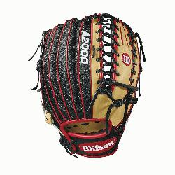 .75 outfield model, 6 finger trap web Black SuperSkin -- twice the strength but half the