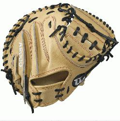 Wilson A2000 CM33 Catchers Mitt. The all new 33 A2000 CM33 has a deeper pocket and catching area
