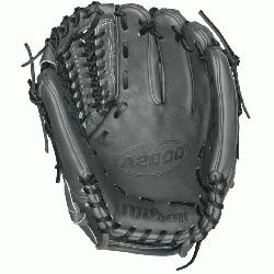 11.75 Inch Pattern A2000 Baseball Glove. Closed Pro-Laced Web Dri-Lex Wrist Lining wit