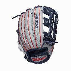 2 infield glove Dual post web Grey SuperSkin, twice as strong as regular leather, but half