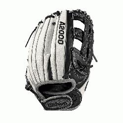her model; dual post web; fast pitch-specific WTA20RF19FP12SS Comfort Velcro wrist closu